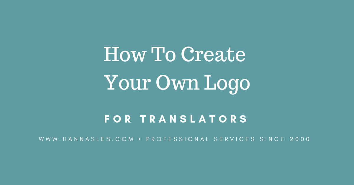 How To Design A Freelance Translator Logo For Free