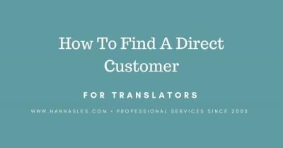 direct customers for translators