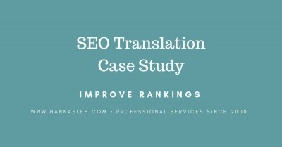 SEO translation case study