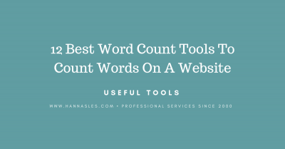 website word counter