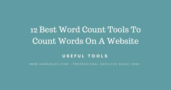 website word counter online