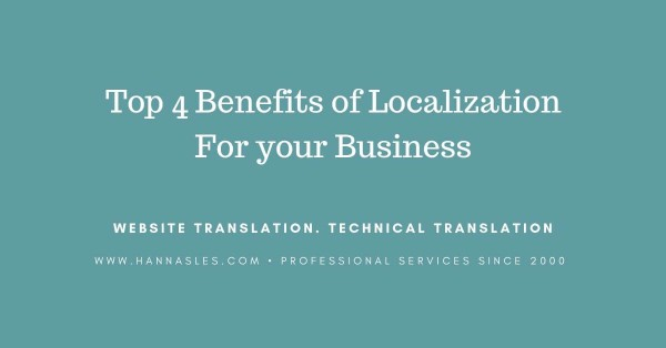 benefits of localization