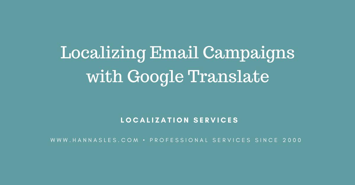 translate newsletter
