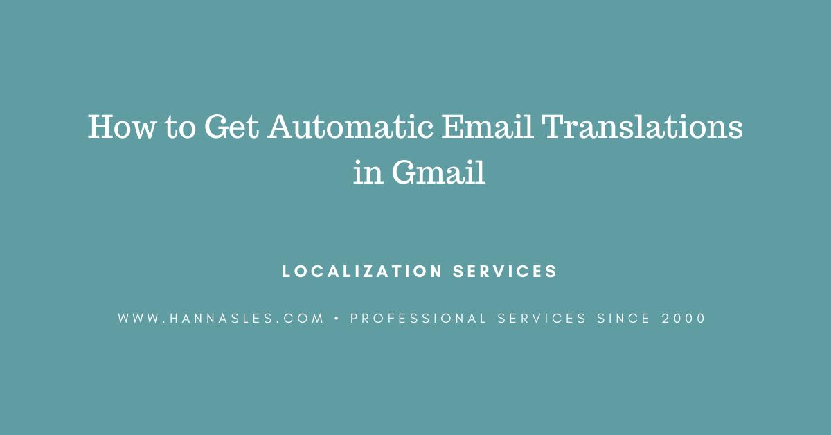 email translator